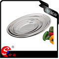 thai design stainless steel dinner plate/egg plate/deep plate/fruit tray