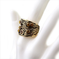 Wholesale Fashion Vintage Moroccan Wedding Rings Women R017