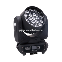 China 19*12w rgbw 4 in 1 quad bee eye led moving head light for hot sale