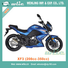 Factory Supply sporty motorcycle ce model with patent sports bike CHEAP street racing XF3 (200cc, 250cc, 350cc)