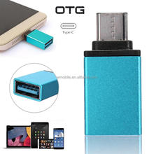 Factory Metal Shell USB3.1 Type-c USB-C Male to USB3.0 Female OTG Type c Adapter