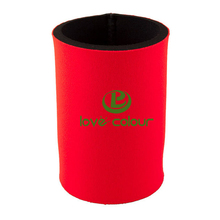 Custom Neoprene Insulated beer can stubby holders for wedding in color red