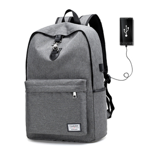 China Supplier Wholesale Custom Design Oxford 100% waterproof usb charging  anti theft back pack laptop bc86a8e26e3c8
