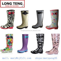 2014 Fashion Ladies Rubber Boots/Rainshoes/Galoshes/Rubber Overshoes