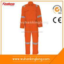 Orange 100%Cotton Flame Retardant Anti-Oil Welding Coverall