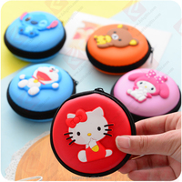 New design Rubber silicone macaron wallet/soft pvc smart coin purse/card holder wallet