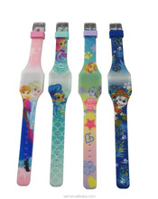 Hight Quality LED Digital Watch Silicone Kids Watches as A Toy Gift Watch SA8558