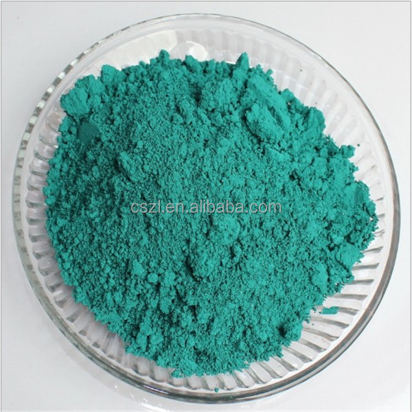peacock green glaze color pigment for ceramic raw material
