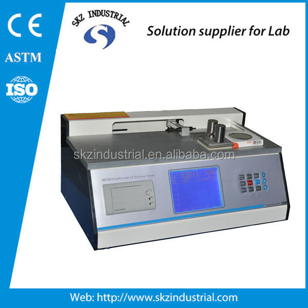plastic slider coefficient of friction tester cof tester