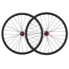 Cheap bicycle parts 27.5er carbon mountain bike wheels with poweway M81 updated hub