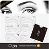 6 Styles Wholesale eyebrow stencils For Makeup Tools
