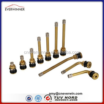 European Style O-ring Clamp-in brass Valves, EW1390, Brass tire valve