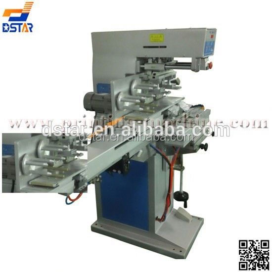 six color pad printer with rotary worktable for sale