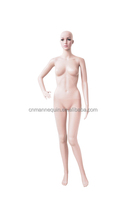 Realistic lifelike plastic female model