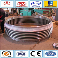 welded type inner and out pressure metal pipe stainless expansion joint
