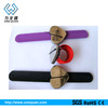 slap on silicone magnetic hairpin bracelet ,magnetic bracelet for hairpin