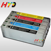 NEW Product! HYD refillable ink cartridges for Epson Stylus Pro 7700 ink cartridge with reset chip