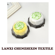 Moon Cake Shape Cotton & Polyester Towel Cake Gift