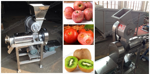 Hot sale!!!Fruit crushing and juicing machine