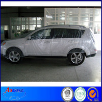 Disposable PE plastic overspray car cover