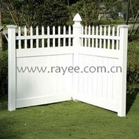 plastic garden door/fence/panel