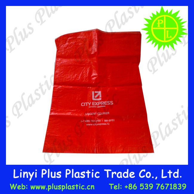 heat seal pp woven custom mailing bags