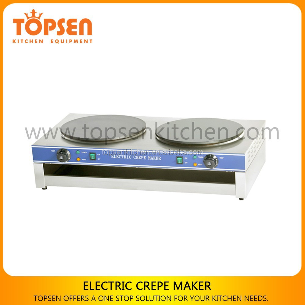 Electric Crepe Making Snack Machine,Small Pancake Food Machine,Small Snack Food Machine