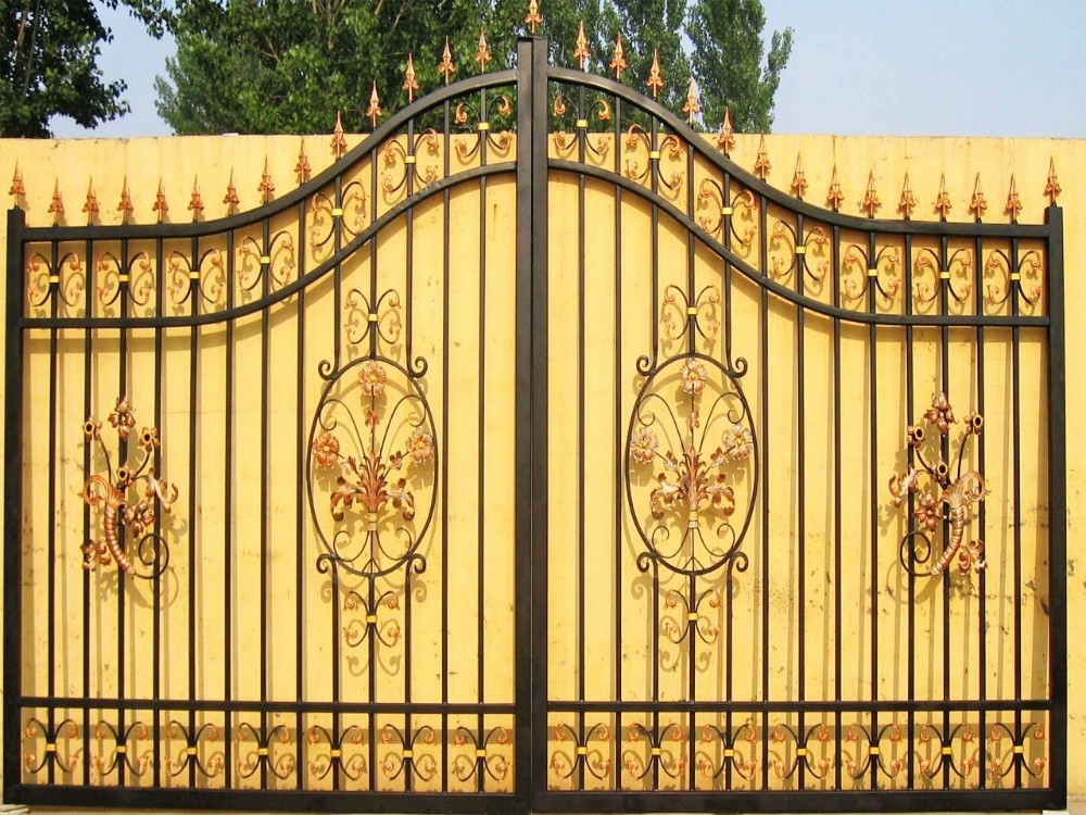 Indian House Main Gate Designs   Buy Driveway Sliding Entrance Iron Gate, Iron Main Gate Designs,Indian House Main Gate Designs Product On Alibaba.com Part 34