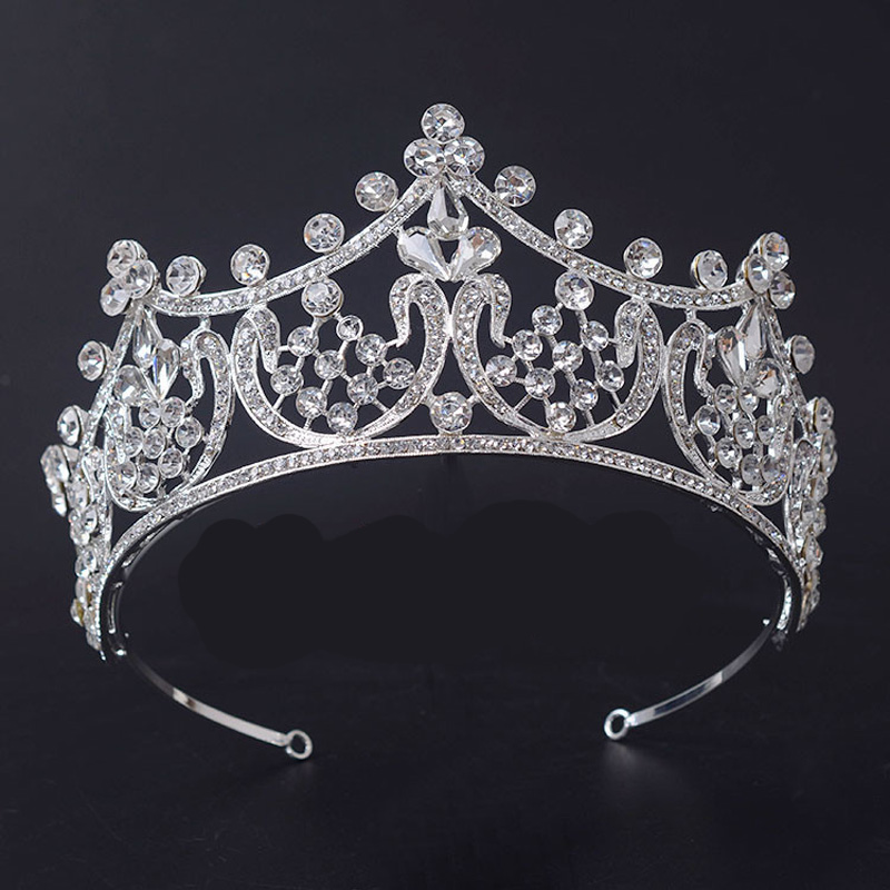 HG601 Girl's Wedding Crystal Party Tiara