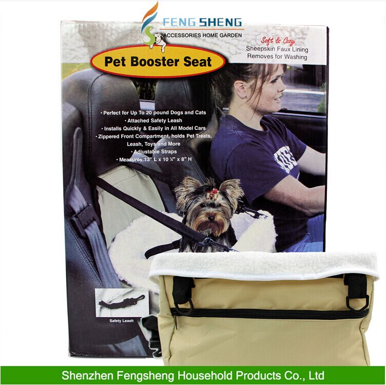 New Quality Pet Dog Puppy Cat Car Seat Booster Seat Carrier Car Vehicle Leash Car Seat