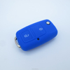 New design silicone car key cover for VW rubber material smart key cover car key case car key flip shell