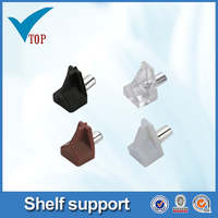 Furniture fittings 5mm plastic shelf support pins