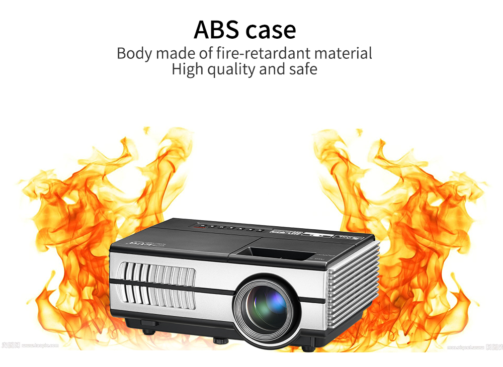 hot sales Newest 600D Pico led projector 1500 lumens pocket mini projector
