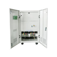 100KVA AVR 3 Phase 380V 400V 415V Servo Motor Stabilizer Automatic Voltage Regulator