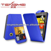 custom cover case for nokia lumia 520,for nokia lumia 520 pu leather flip case