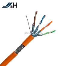 STP Shielded Braid CAT7 Twisted Pair Installation Cable Ethernet Cable