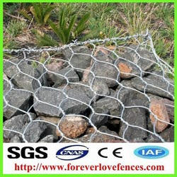 Gabion boxs wire cage rock wall gabion wire mesh