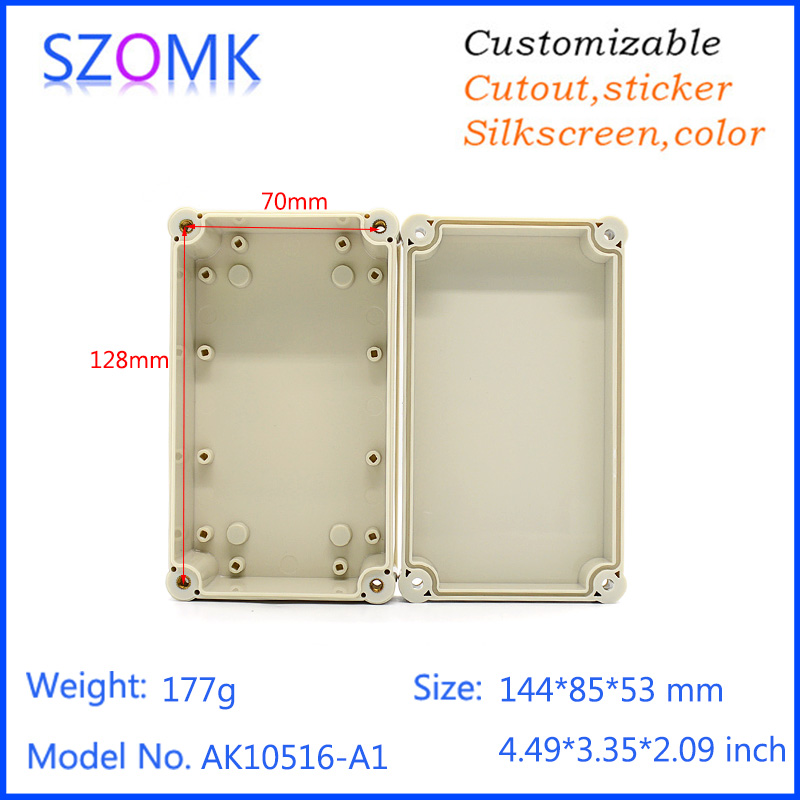 "53*85*144mm / 2.09*3.35*4"" IP68 Waterproof Enclosure for Outdoor Testing and Electronical Projects"