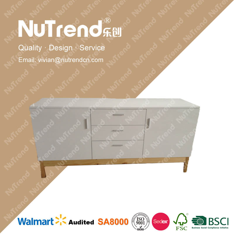 customize design floor standing lcd plasma tv stand with drawer
