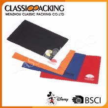 High quality glasses cleaning cloth case