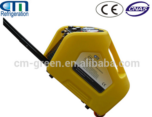 r134a car refrigerant recovery recycling machine /a/c service station