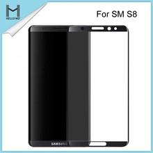 Customize S8 Tempered Glass,3D Full Curved for Samsung Galaxy S8 Tempered Glass Screen Protector