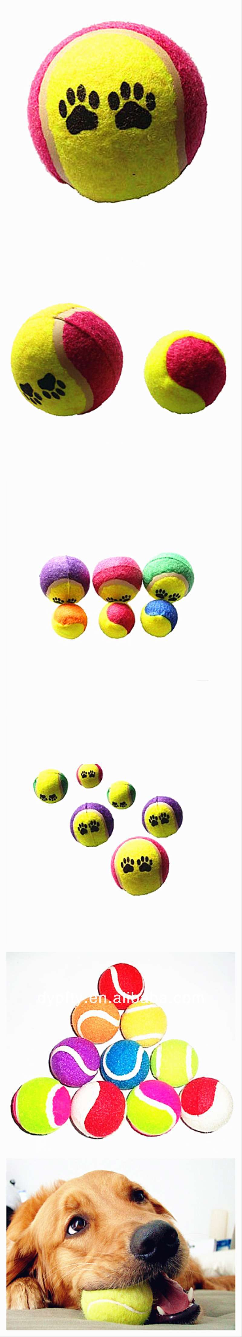 2.5' pet toy tennis ball jumbo tennis ball 2.5' pet toy tennis ball