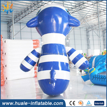 2017 hot sale inflatable zebra model for sale/inflatable toys