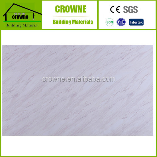 Light Weight UV Panel Wall Panel PVC Marble Sheet