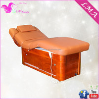 New design useful electric wave wooden Skin Care Facial Bed Wholesalers