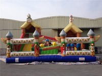 Popular newest inflatable combo,inflatable bouncy castle,bouncy house with slide for sale free shipping