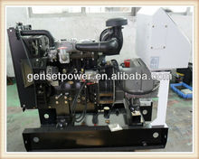 16kw AC Three Phase Diesel Generator Set 20kva With Perkins 404D-22G Engine