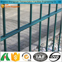 2016 Hot Sale High Quality Cheap Powder Coated Used Double Wire Mesh Fence For Sports Pitches