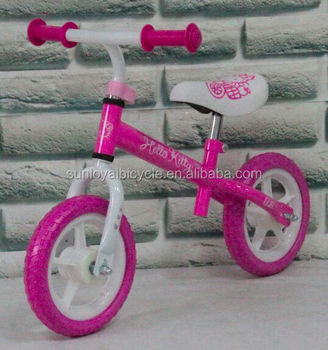 "SL1251 12"" Running Bike Hello Kitty"